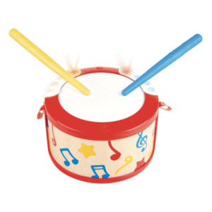 Venez découvrir le tambourin d'apprentissage de la marque Hape. Grâce à ce tambour, l'enfant découvre lamusiqueet lerythmeen s'amusant. Le tambour possède2 modes: lemode rythme, avec deslumièreset6 battements différents,initie l'enfant aux bases de la batterie tout en favorisant lapatience; lemode chansonpermet à l'enfant de jouer5 mélodiesen tapant sur les lumières. De quoi se sentir l'âme d'un véritable musicien !