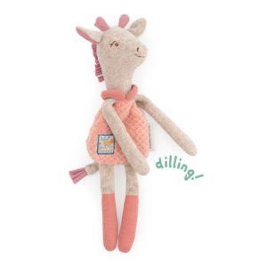 doudou hochet girafe bibiscus