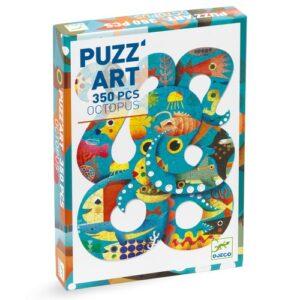 puzz'art octopus djeco