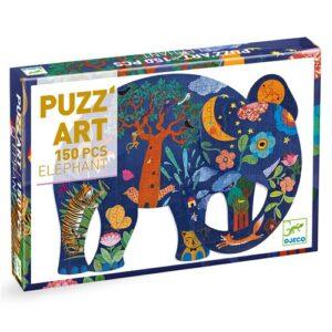 puzz'art elephant djeco