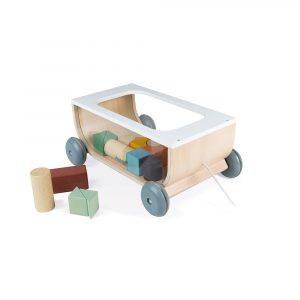 chariot de cubes