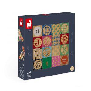 cubes en bois