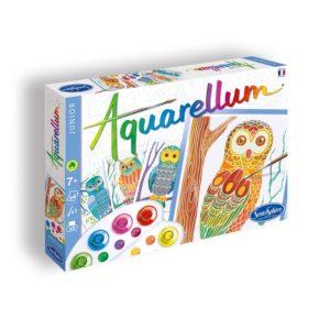 aquarellum junior hiboux