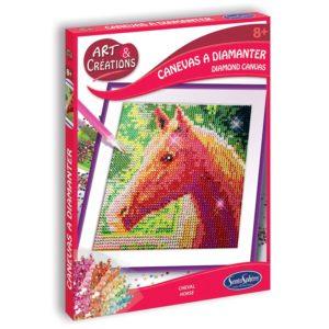 canevas a diamanter cheval art et création