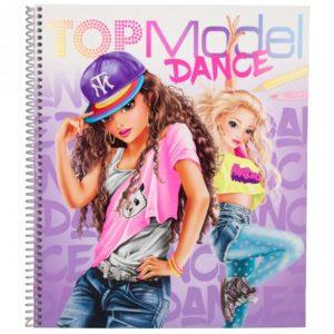 album à colorier Dance Top model