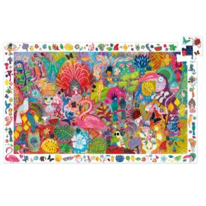 puzzle d'observation carnaval djeco