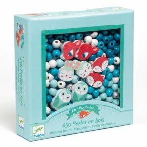 perles en bois petits animaux
