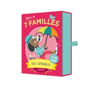 jeu des 7 familles des animaux Auzou