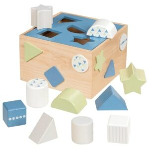 boite à formes goki bleuet