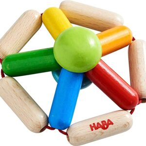 hochet roue multicolore haba