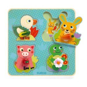 puzzle croc carotte djeco