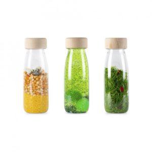 3 bouteilles sensorielles pack life