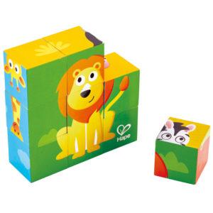 cubes animaux de la jungle
