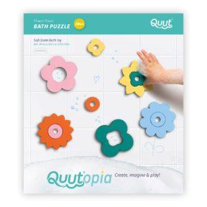 puzzle de bain flower