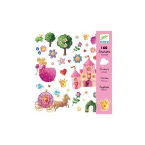 160-stickers-princesse-djeco