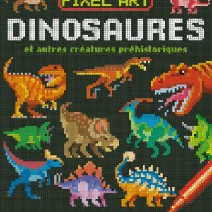 pixel art dinosaures