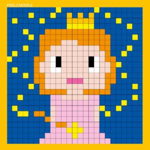 mes tableaux pixel créatures féériques