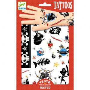 tatouages pirates djeco