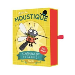 jeu du moustique auzou