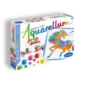 aquarellum junior chevaux