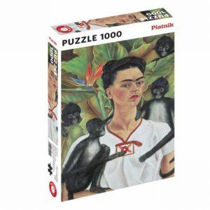 puzzle Frida Kahlo autoportrait