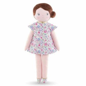 poupée de chiffon bella fleurs de corolle