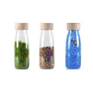 3 bouteilles sensorielles pack sonore