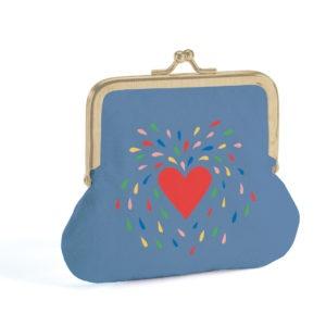 porte monnaie coeur lovely purse djeco