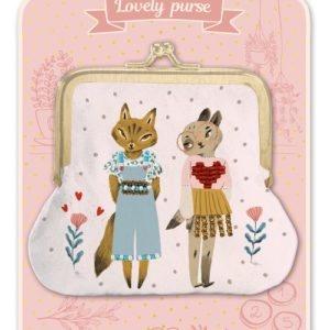 porte monnaie chat lovely purse djeco