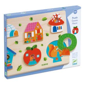 puzzle coucou house djeco