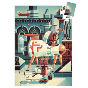 puzzle bob le robot djeco