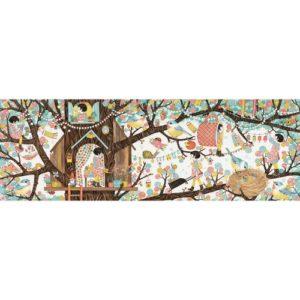 Puzzle gallery tree house 200 PIECES DJECO