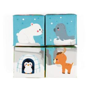 4 cubes de bain janod