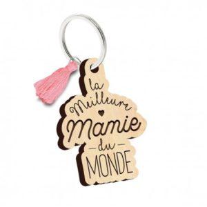 porte clés la meilleure mamie du monde
