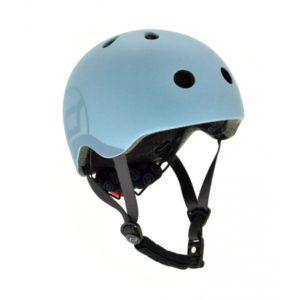 casqie de protection bleu scoot and ride