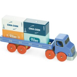 camion porte conteneurs vilac
