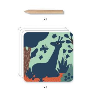 cartes a gratter grosses betes