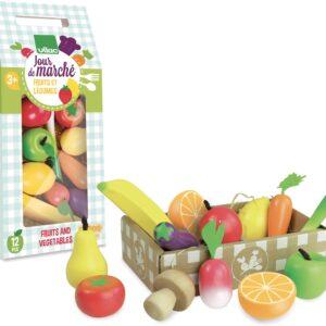 fruits et légumes jour de marché vilac