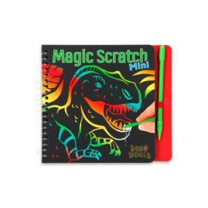 mini magic scratch book dino world