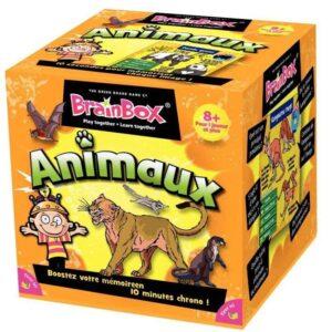 brainbox-animaux-green-board-games