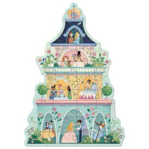 puzzle géant la tour des princesses djeco