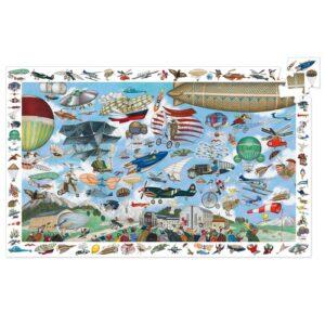 puzzle observation aeroclub djeco