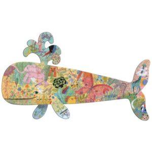 puzz'art baleine djeco
