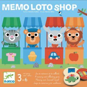memo loto shop djeco