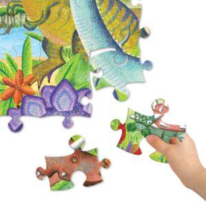 puzzle eeboo l'âge des dinosaures