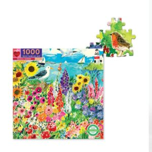 puzzle seagull garden eeboo