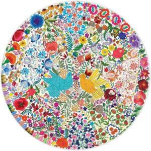 eeboo-puzzle-rond-500-pieces-oiseau 1-bleu-oiseau-jaune.381066-1.600