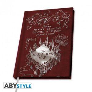 harry-potter-cahier-a5-carte-du-maraKudeur-x4