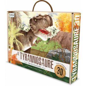 le tyrannosaure 3D sassi