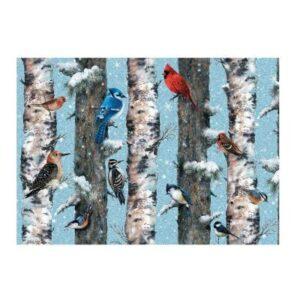 puzzle les oiseaux en hiver